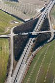 Airial view of freeway