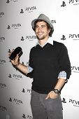 LOS ANGELES, CA - FEB 15: Danny Lopes at the Sony PlayStationAE Unveils PS VITA Portable Entertainme