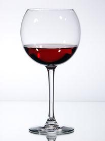 pic of wine-glass  - red wine a wine glass - JPG