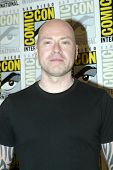 SAN DIEGO, CA - JULY 13: Steven S. DeKnight arrives at the 2012 Comic Con convention press room at t
