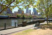 South Bank Yarra River Melbourne