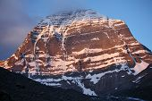 image of jainism  - Holy Mount Kailash in Tibet  - JPG