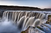 Dettifoss is the most powerful waterfall on Iceland and in the whole Europe. It is located in Jokuls