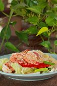 Spicy vermicelli salad poster