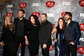 LOS ANGELES - DEC 10:  Lady Antebellum and spouses/dates arrive to the American Country Awards 2012