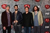.LOS ANGELES - DEC 10:  Eli Young Band arrives to the American Country Awards 2012 at Mandalay Bay R