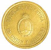10 Argentinian Peso Centavos Coin