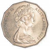 half australian dollar coin