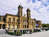 image of basque country  - City Hall in Donostia  - JPG