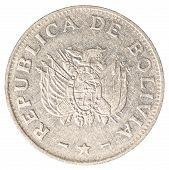 bolivian boliviano coin