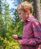 Child Geocaching