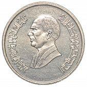 10 Jordanian Piasters Coin
