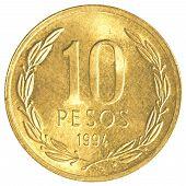 10 Chilean Pesos Coin