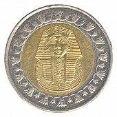 One Egyptian Pound Coin
