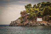 Small Church on Island, Parga Greece