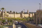 Jerusalem - March 29,2013: Street Scene In Old Town Of Jerusalem