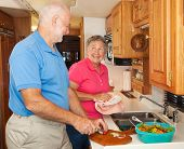Senior Rv - Helping In The Kitchen