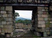 Landscape Of Mayan Ruins In Copan Ruinas, Honduras