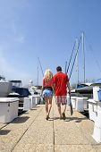 Couple On Dock