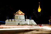 Ancient Thai Fortress Named Pom Maha Kan In Bangkok,thailand