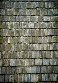 image of shingles  - A Background Texture Of Wooden Roofing Shingles - JPG
