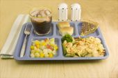 Shrimp Lo Mein Cafeteria Style