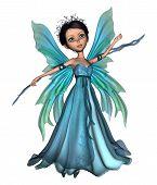Flying Little Fairy Butterfly