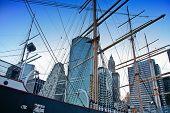 South Street Seaport Masts