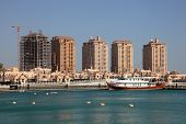 Marina In Porto Arabia. Doha, Qatar