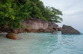 Hin Rua Bai, Sailboat Rock The Symbol Of Similan Island In Thailand