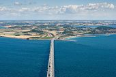 An Aerial View Of Sealand, Denmark