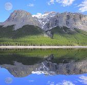 Minnewanka Lake.