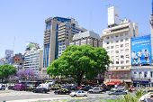Plaza de Avenida 9 de Julio
