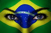 Brazil Woman Face