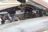 1950 Chevy Skyline Deluxe Engine