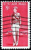 Amelia Earhart Stamp
