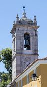 Belltower in the city of Sintra, Portugal