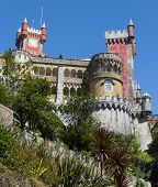 SINTRA, PORTUGAL - August 17, 2012: The Pena National Palace