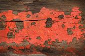 red grunge wood texture background old panel