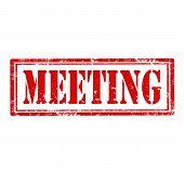 Meeting-stamp