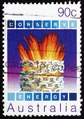 Postage Stamp Australia 1985 Harnessed Energy, Environmental Con