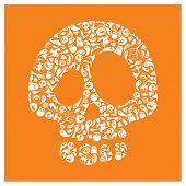 Halloween icons - Skull
