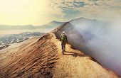 foto of bromo  - Hike in Bromo volcano - JPG