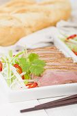foto of duck breast  - Tea Smoked Duck  - JPG