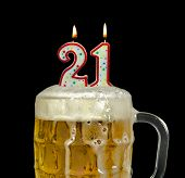 beer for 21st birthday