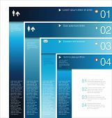 Modern infographic Design Layout