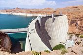 Glen Canyon Dam, Near Page Arizona