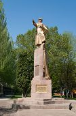 Monument To The Panfilov, General  In Bishkek