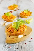 Sandwiches With Carrots