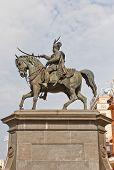 Monument (1866) To Ban Josip Jelacic In Zagreb, Croatia